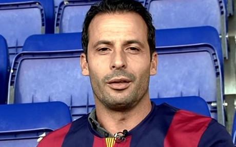 Giuly participa en la acci�n digital impulsada por el FC Barcelona