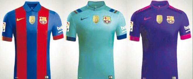Las nuevas camisetas del FC Barcelona sin publicidad