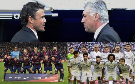 Luis Enrique y Ancelotti: Dos formas de gesti�n distintas