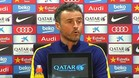 Luis Enrique defiende a Neymar