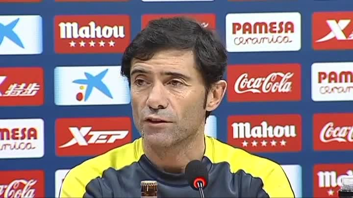 Marcelino mantiene la duda de Baptistao o Bakambu en el ataque del Villarreal