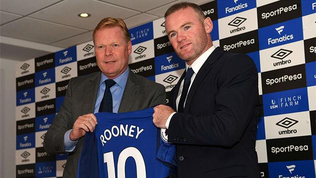 Rooney, presentado con el Everton