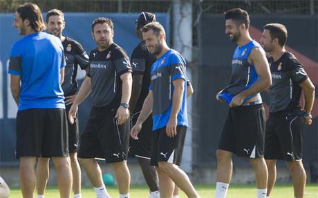 Sergio cuenta con el respaldo de sus jugadores para sacar el Espanyol adelante