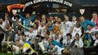 El Sevilla gan� su quinta Europa League contra el Liverpool en Basilea