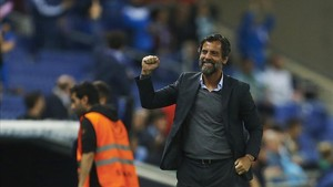 El técnico del Espanyol, Quique Sánchez, quiere ser el primero que cante victoria ante el Valencia