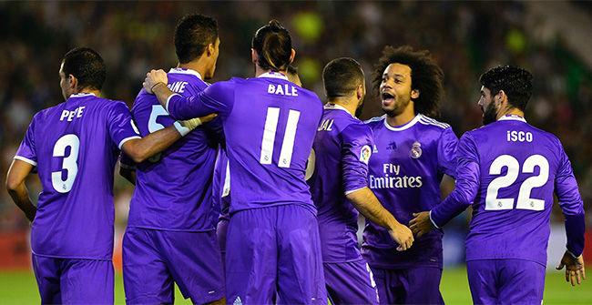 Real Madrid goleó 6-1 al Real Betis por la Liga