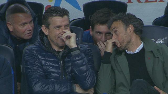 La confesión de Luis Enrique a Messi tras el gol de Mascherano