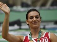 Isinb�yeva es una de las mejores atletas de la historia de Rusia