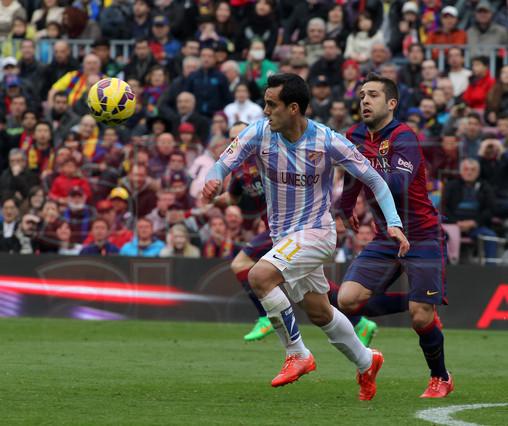 صور : مباراة برشلونة - ملقا  0-1 ( 21-02-2015 )  1424541252479