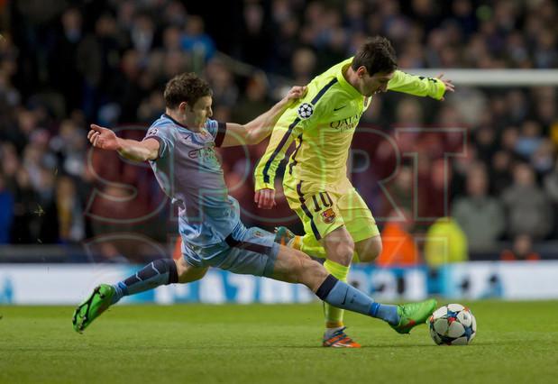 صور : مباراة مانشستر سيتي - برشلونة 1-2 ( 24-02-2015 )  1424816350279