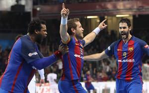 El FC Barcelona Lassa sigue dominando la Liga Loterías ASOBAL