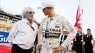 Ecclestone y Nico Rosberg