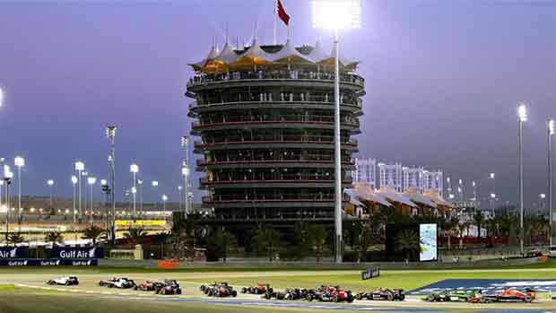 El circuito de Sakhir del GP de Bahrein de F1 (ES)