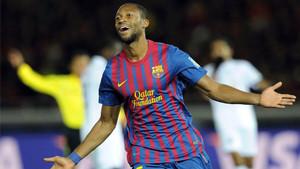Seydou Keita, en una imagen de archivo de su etapa en el FC Barcelona