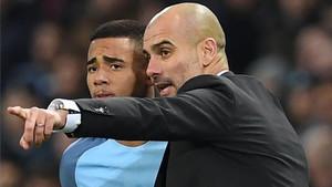 Guardiola podrá volver a contar con Gabriel Jesus