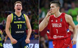 Doncic y Bogdanovic lideran a sus selecciones