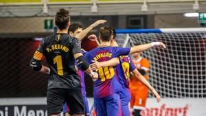 El Barça Lassa sufrió hasta el final para lograr su objetivo