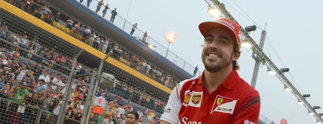 Alonso deja su futuro en manos de Ferrari