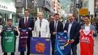 Andorra fue escenario este lunes de la presentaci�n de la Lliga Catalana que se disputar� en el Principat esta semana