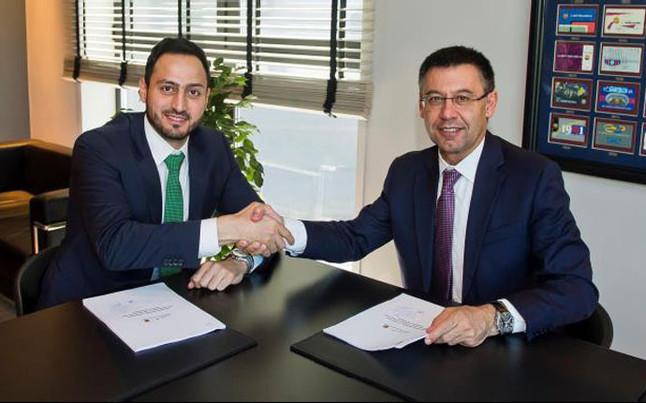 El FC Barcelona encuentra un patrocinador en el mundo del fitness
