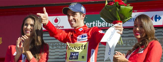 Contador da el golpe en la contrarreloj