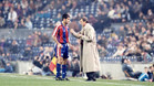 Cruyff par� la venta de Guardiola a un Segunda