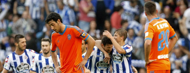 El Depor deja sin respuestas al Valencia