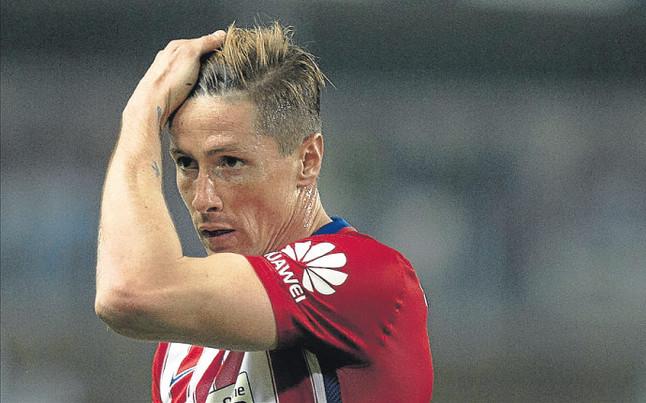 Fernando Torres sufre la psicosis del gol 100
