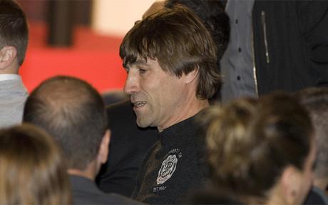 Julio Salinas jug� en el Bar�a entre 1988 y 1994