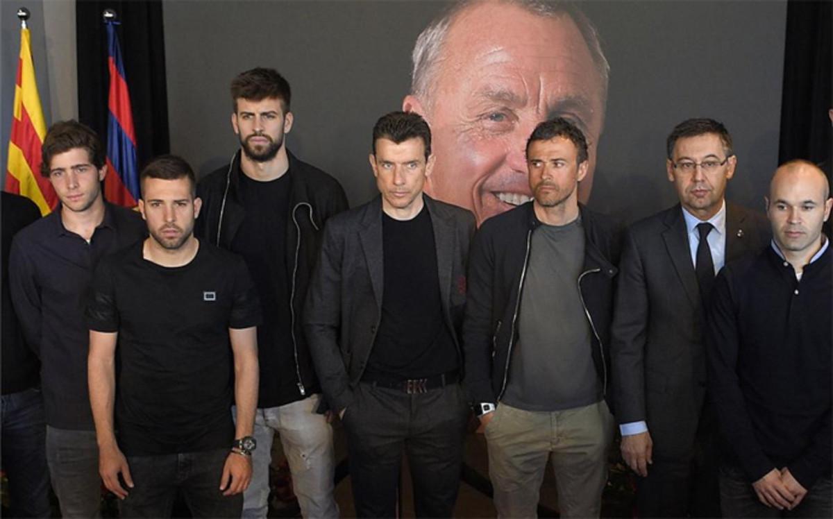 Homenaje Johan Cruyff: Sigue en directo la �ltima jornada del Memorial