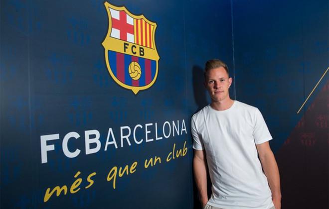 Marc-Andr� Ter Stegen, portero del FC Barcelona