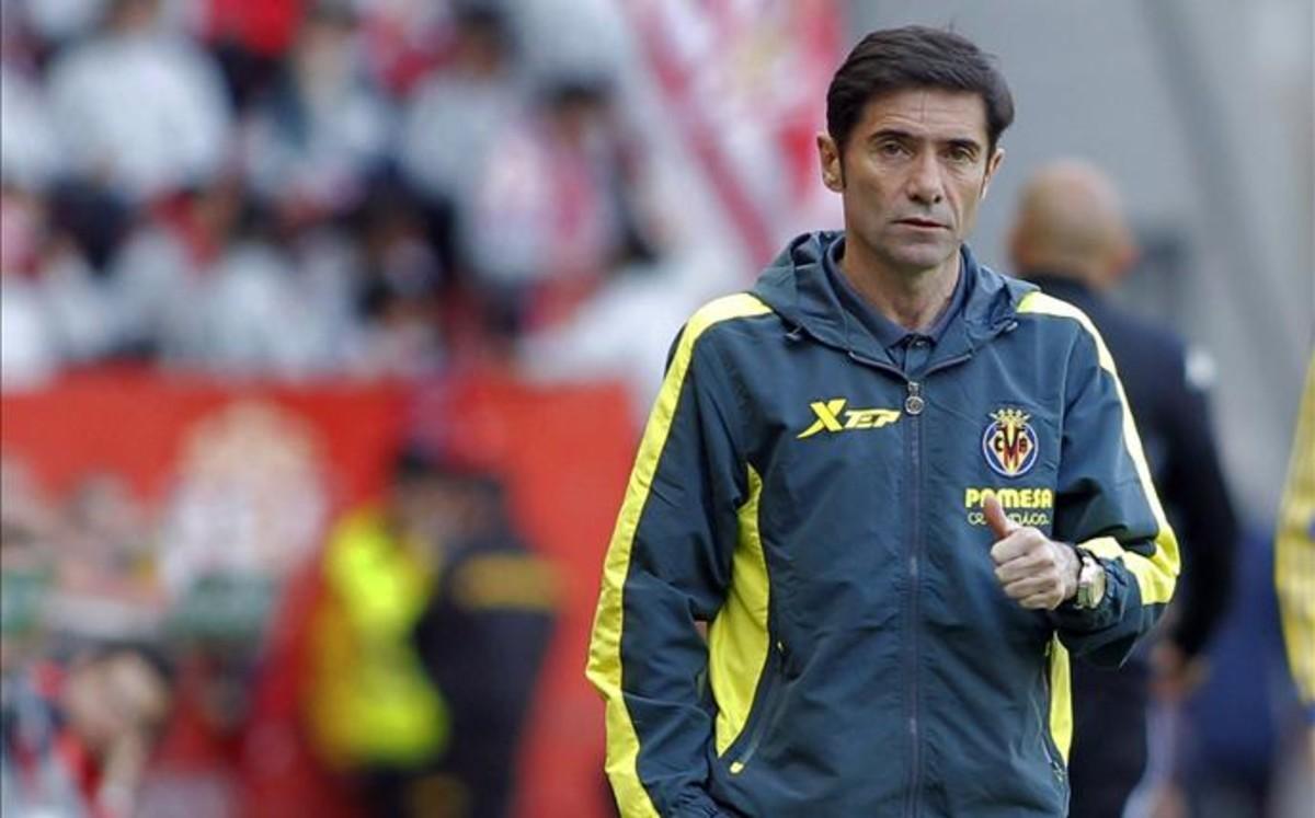 El Villarreal cesa a Marcelino
