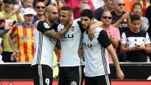 El Valencia sumó su séptima victoria liguera consecutiva