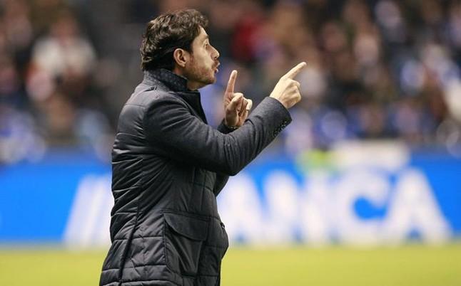 """V�ctor S�nchez cree que el Espanyol dar� """"su mejor versi�n"""" ante el Deportivo"""