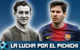 Los diez Pichichi del Barça en la Liga