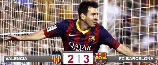 Messi sí que 'Bale'