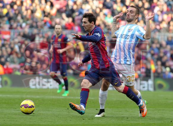 صور : مباراة برشلونة - ملقا  0-1 ( 21-02-2015 )  1424541252389