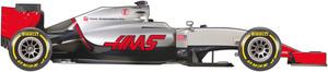 El coche del equipo Haas para el Mundial 2016 de F1