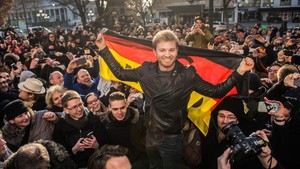 Rosberg en Wiesbaden