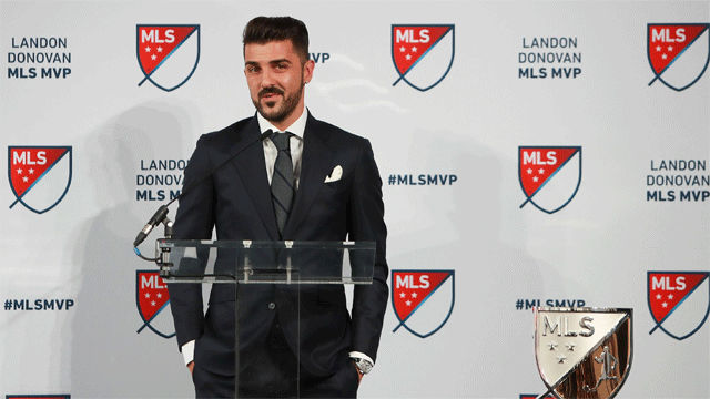 Villa, mejor jugador de la MLS