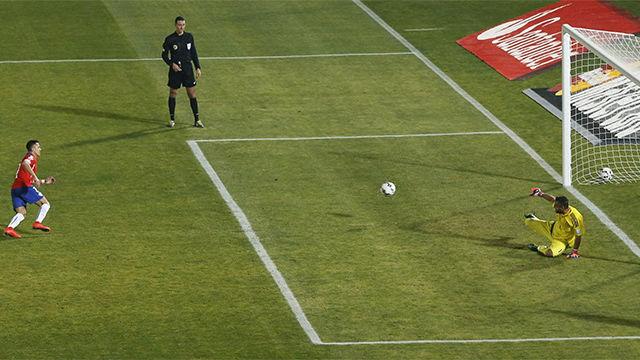 Así marcó Alexis Sánchez en la Copa América 2015