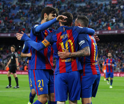 FC Barcelona, 7 - CA Osasuna, 1