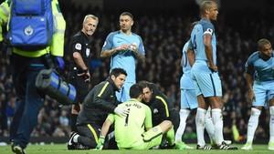 La baja de Bravo, una mala noticia para Guardiola