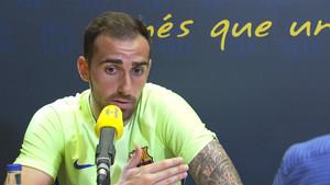 Paco Alcácer, entrevistado por Catalunya Ràdio