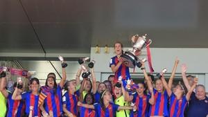 Las campeonas de la Copa de la Reina son mayoría en la lista de Vilda