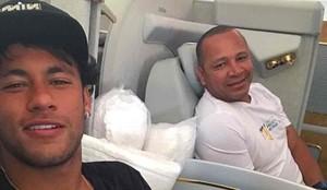 Neymar y su padre están en Estados Unidos
