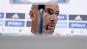 Zidane, contento con el equipo