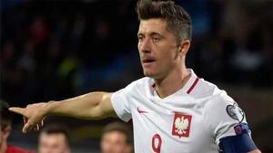 Lewandowski clasificó a Polonia