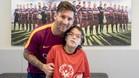 El bonito gesto de Leo Messi