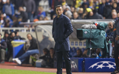 Luis Enrique, satisfecho del Bar�a